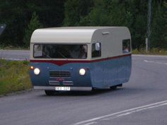 SAAB camper from the 70's