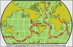 Information about mid-ocean ridges