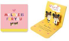 Okaytina Pop-Up Card - My Love Is For You