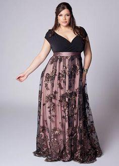 Vestido que fica bom para madrinha de casamento gordinha