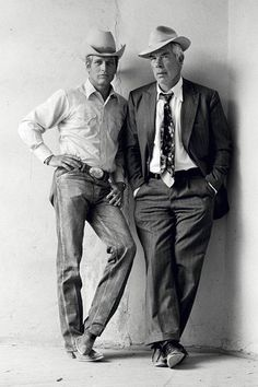 Paul Newman & Lee Marvin, por Terry O'Neill by @cosechadel66