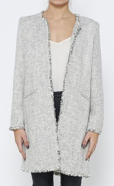 Magaschoni Black, Grey And White Jacket