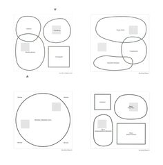 spatiall organisation Sanaa Architecture Program, Architecture Concept Diagram, Architecture Presentation Board, Japanese Architecture, Architecture Office, Cedric Price, Bubble Diagram, Ryue Nishizawa, Simple Line Drawings