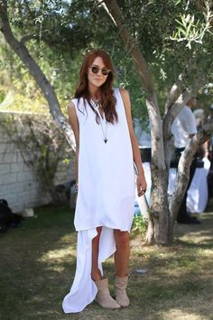 Coachella 2013 - Samantha of Could I Have That in the JOIE Pinyon Booties