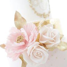 cool vancouver wedding A closeup of the peony and roses#sugarflowers#weddingcake#yvrwedding #weddingplanner #weddingplanning #goldleafcake #luxuryweddingcake by @momochencakes  #vancouverwedding #vancouverweddingcake #vancouverwedding