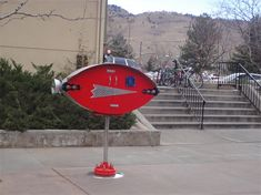 Spaceship library designed by Jimmy Descant. Located in Boulder, CO.