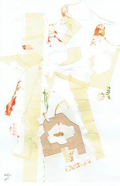 #arte #abstracto #mixta #pintura #acrilica #cinta #madera #cartulina #exposicion #segunda #motrico2 #uriel #segui #y #la #comunidad #dibujante #collages #2014