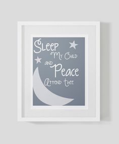 Nursery Collection All Through the Night by theten12 on Etsy