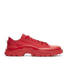 ADIDAS BY RAF SIMONS DETROIT RUNNER SNEAKERS. #adidasbyrafsimons #shoes #