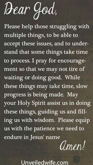 Dear Lord, Please help those struggling with multiple things, to be able to accept these issues, and to understand that some things take time to process. I pray for encouragement so that we may not tire of waiting or doing good. Faith Prayer, My Prayer, Faith In God, Prayer Room, Healing Prayer, Miracle Prayer, Healing Quotes, Prayer Quotes, Bible Quotes
