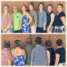 HAPPY WEDDING DAY to beautiful bride Brittany OMalley and her amazing attendants! It was an honor to have you in today!  #homalleysgethitched (Hair and makeup by @elikaemerick @laurenns16 @teasymess  @shinjukuchick @sydneygayle89)