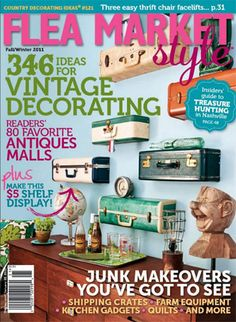 I don't have the magazine yet but I will tomorrow!  Love the suitcase shelves!