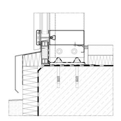 Base point facade Anchoring on base plate Curtain Wall Detail, Glass Curtain Wall, System Architecture, Architecture Details, Commercial Building Plans, Wall Section Detail, Cladding Design, Roof Detail, Window Detail