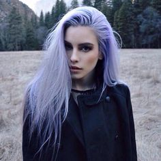 Oh so gorgeous light lavender hair colour