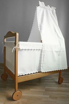 simple little baby crib