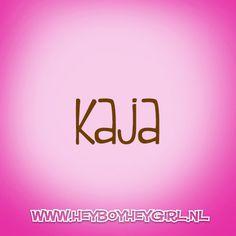 Kaja (Voor meer inspiratie, en unieke geboortekaartjes kijk op www.heyboyheygirl.nl)