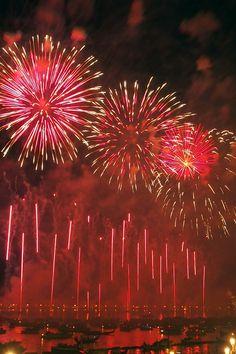 Gli spettacolari fuochi d'artificio della Festa del Redentore