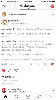Chris and Yuri lol