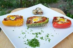 Vegetarian Stuffed Peppers, Avocado Toast, Tacos, Meatless Recipes, Step Guide, Breakfast, Ethnic Recipes, Invite, Website