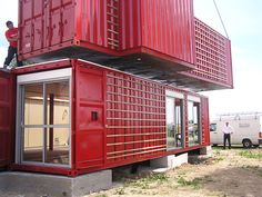 Love this house!  http://inthralld.com/2012/03/maison-container-life-residence-in-france-by-patrick-partouche/