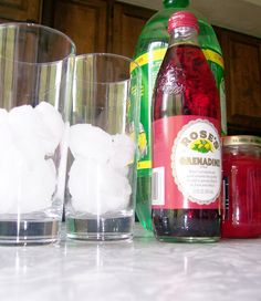 Shirley Temple Mocktail hall activity: alcohol awareness