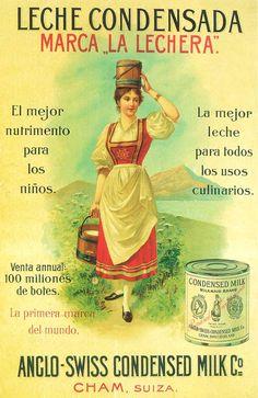 Solve Themes Vintage ads - Condensed Milk jigsaw puzzle online with 126 pieces Art Vintage, Vintage Signs, Vintage Ads, Vintage Images, Old Advertisements, Retro Advertising, Retro Ads, Poster Ads, Old Ads