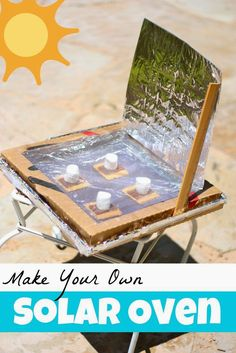 Make Your Own Solar Oven Tutorial! What a easy, thrifty, fun activity. This would be perfect for a lesson on predicting!