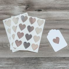 Heart Stickers - Sil
