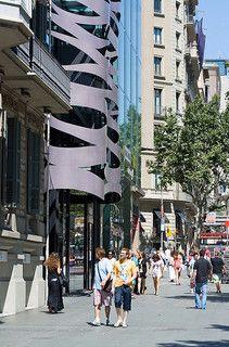 Paseo de Gracia, Barcelona,