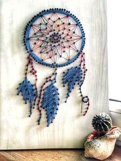 Dream chatcer string art