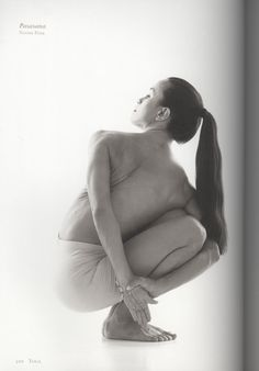 Pasasana (Noose Posture), first pose in the intermediate series of Ashtanga yoga
