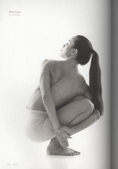 Pasasana (Noose Posture), first pose in the intermediate series of Ashtanga yoga