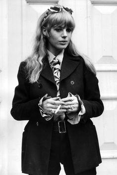Marianne Faithfull Saint Laurent Music Project - Marianne Faithfull - Harper's BAZAAR