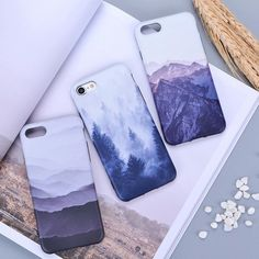 XBXCase Frosted Matte Soft Silicone Cover Case For iphone 6 Plus 7 Mist Black Mountain Forest TPU Case for iPhone 8 Iphone Cover, Diy Iphone Case, Floral Iphone Case, Marble Iphone Case, Iphone Phone Cases, Iphone Stand, Iphone 8 Plus, Cute Cases, Cute Phone Cases