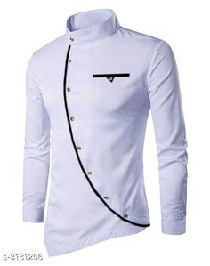 Checkout this latest Kurtas Product Name: *Trendy Cotton Button Men's Kurta* Sizes:  XL Country of Origin: India Easy Returns Available In Case Of Any Issue   Catalog Rating: ★4.2 (7143)  Catalog Name: Ethnic Trendy Cotton Button Men's Kurtas Vol 15 CatalogID_437296 C66-SC1200 Code: 854-3181256-5511