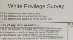 'White Privilege' survey in high school class sparks parents' ire   Fox News