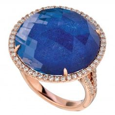 Rose Gold and Lapis by Doves CHRISTMAS  PLEASE:)