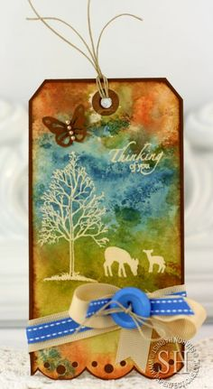 Feb 2013 The Northwoods stamp set by Theresa Momber for Gina K Designs. Tag designed by Sharon Harnist.
