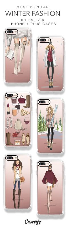 Most Popular Winter Fashion iPhone 7 Cases & iPhone 7 Plus Cases here > https://www.casetify.com/hnicholsillustration/collection
