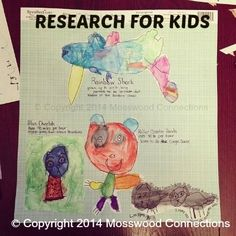 Research for kids Kids are always asking questions. The next time that your child asks a question have them do a research paper for kids at their own level. Learning how to gather and present information is a valuable skill and it is never too soon to start.