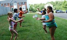 water baloon games for summer or splash party...My LDS & Other Projects: A Water Themed Birthday Party