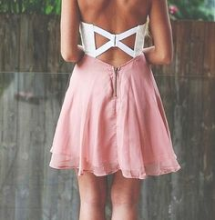 Pink Cutout dress LOVE IT