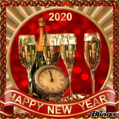 ads ads Happy New Year gif All gif playback time of shares varies according to your internet speed. Happy New Year Message, Happy New Year Quotes, Happy New Year Wishes, Happy New Year Everyone, Happy Year, Happy Lunar New Year, Happy Chinese New Year, Happy New Year 2020, New Year Wishes Images