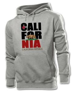 California Republic Graphic Hoodie Sweatshirt, California Pride
