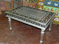 Coffee Table Hand Carved India Furniture | eBay