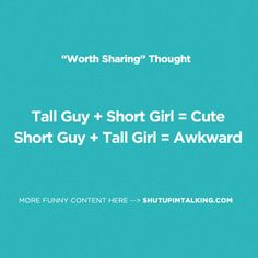 There's just something about it... haha! love shutupimtalking.com !