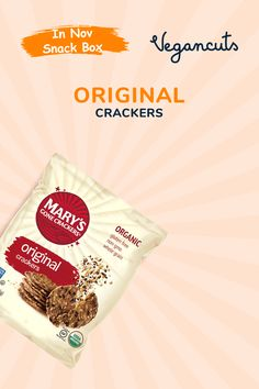 Mary's Gone Crackers are rich in dietary fiber and nutrients, with each serving of these crackers delivering a whopping 450mg of omega-3 fatty acids. Original Seed Crackers combine organic, gluten-free, whole grain brown rice, quinoa, flax seeds, and sesame seeds to create a cracker with a rich earthy flavor and a super satisfying crunch. Made with plant-based proteins, 100% whole grains, with no added sugar, oils or fat.