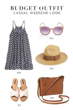 A Casual Weekend Look Under $130 | via @glitterguide theglitterguide.com