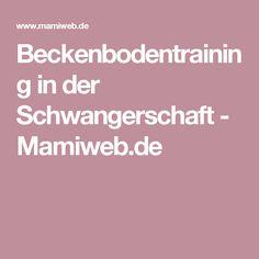 Beckenbodentraining in der Schwangerschaft - Mamiweb.de
