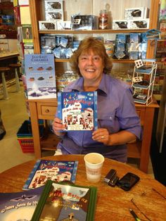 Exciting news! Visit The Old Pioneer Store and Kilwins chocolates this Friday, July 19th from 11:00 am-2:00 pm for Wendy Nystrom's new book release Tomfoolery and 13 Yule Lads of Iceland. For this event there will be drawings, 25% off Christmas during the hours of this event and a FREE Kilwins ice cream cone for every book purchase!!!